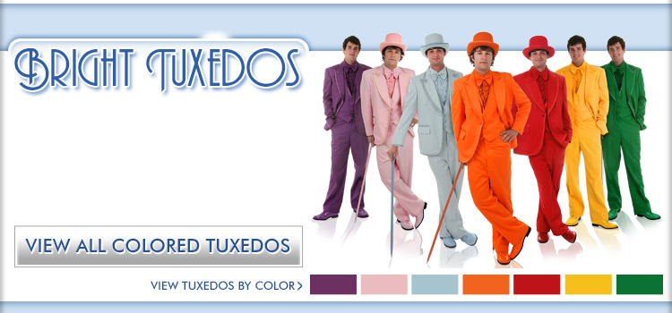 Colored Tuxedos